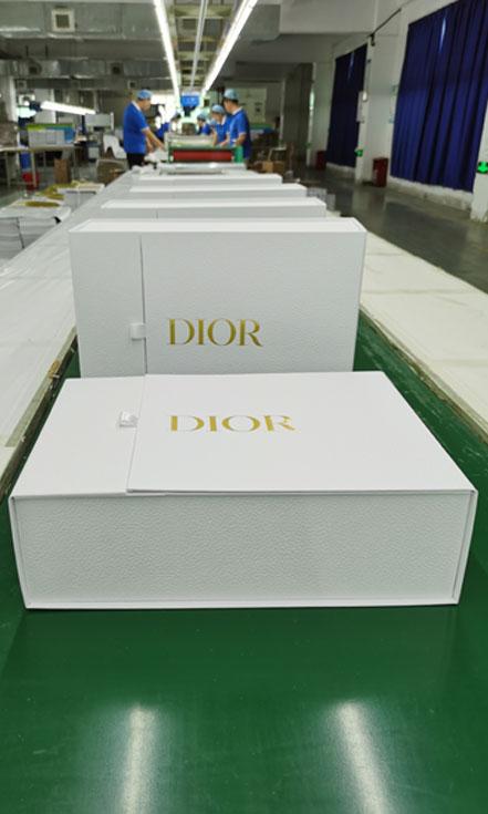 Luxury bespoke packaging for DIOR